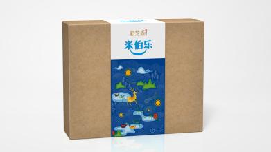 米伯乐食品品牌包装设计