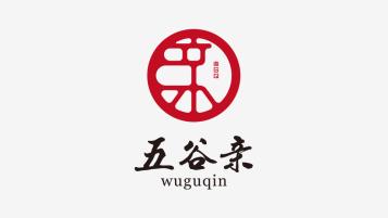 五谷親食品品牌LOGO設計