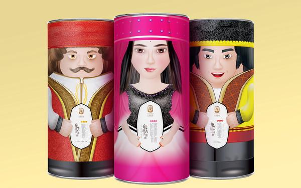 【丘兹驼商】古法冰糖包装设计