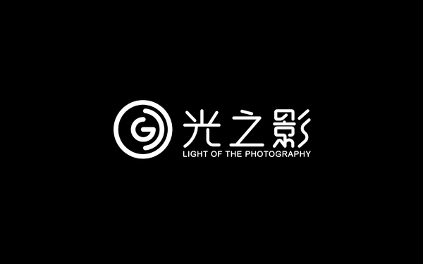 光之影摄影LOGO设计
