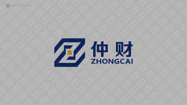 仲财金融品牌LOGO设计入围方案2