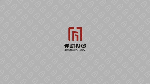 仲财金融品牌LOGO设计入围方案5