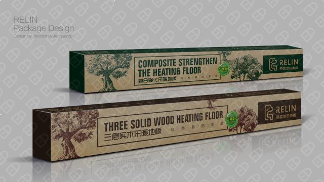 热霖发热地板包装设计入围方案4