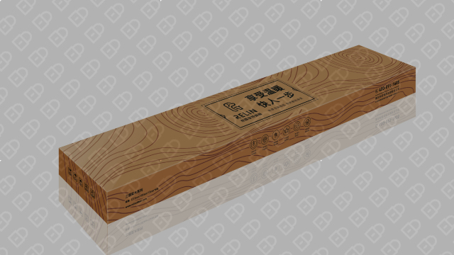 热霖发热地板包装设计入围方案6