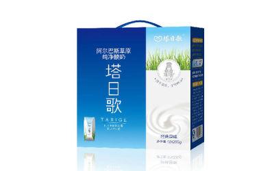 阿尔巴斯纯净酸奶包装营销设计策划