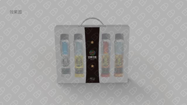京源丰硕食品品牌包装设计入围方案1