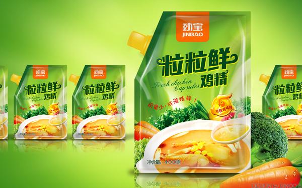 粒粒鮮雞精包裝設計