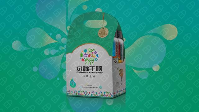 京源丰硕食品品牌包装设计入围方案4