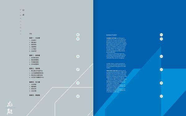 龙能物业 画册设计