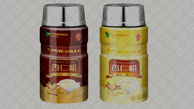 美滋维尔食品品牌包装设计入围方案2