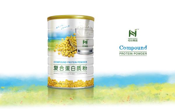复合蛋白质粉包装设计