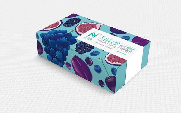 固体饮料果蔬发酵粉包装设计