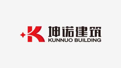 坤诺建筑品牌LOGO设计