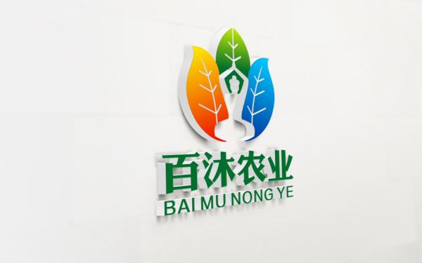 百沐农业标志设计