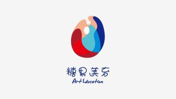 糖果美育教育品牌LOGO設計