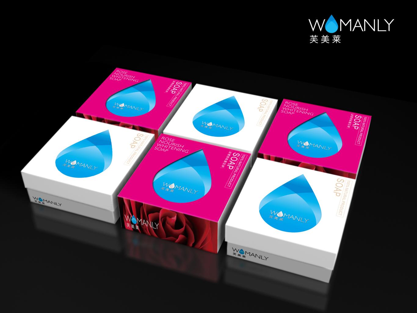 芙美莱手工皂包装设计图1