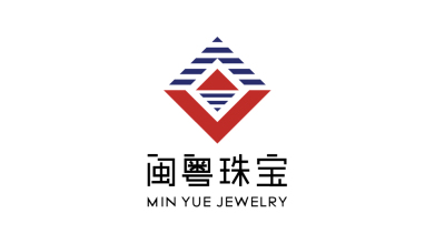 閩粵珠寶LOGO設計