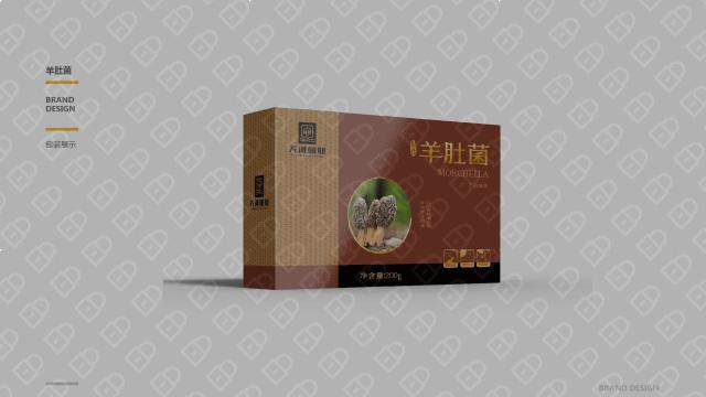 天河菌业包装设计入围方案2