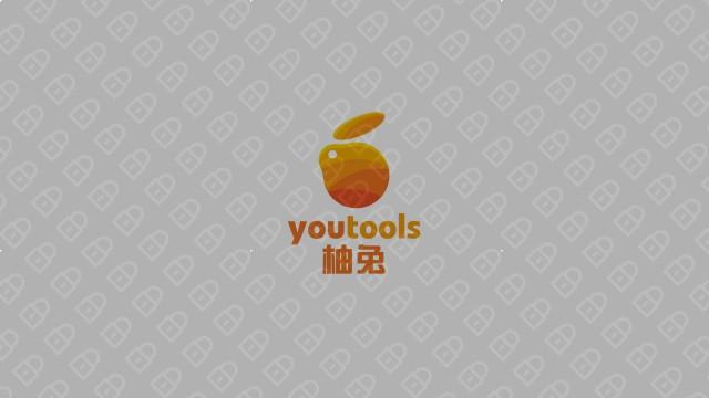 柚兔品牌LOGO设计入围方案4