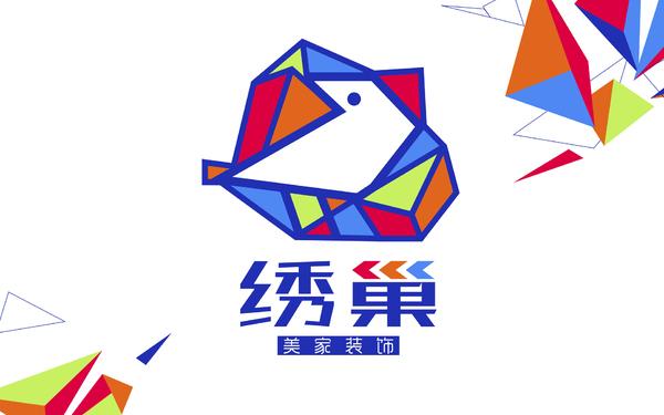 绣巢标志设计