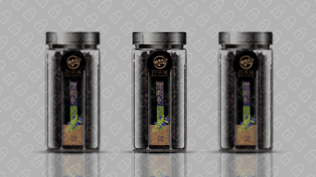百沃瑞黑枸杞包装设计入围方案2