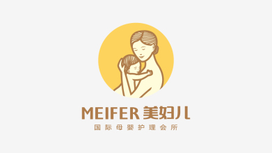 美婦兒國際母嬰護理會所公司LOGO設計