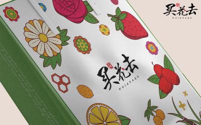 买花去-花茶品牌设计
