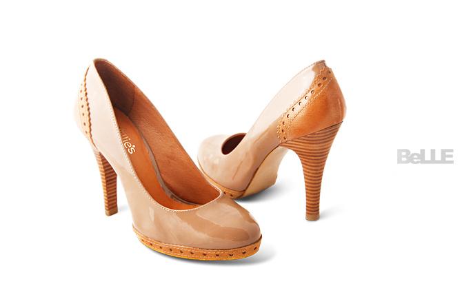 BELLE女鞋产品摄影图3