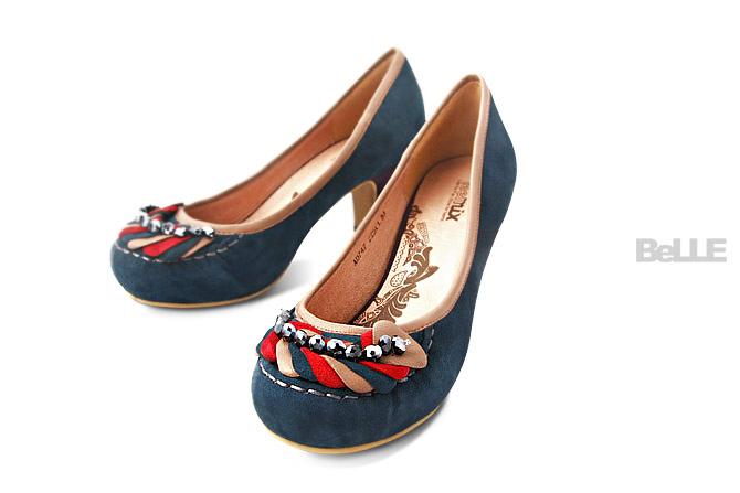BELLE女鞋产品摄影图4