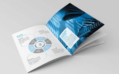 科技画册内页设计