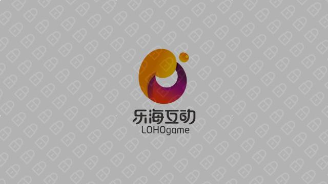 乐海互动公司LOGO设计入围方案2