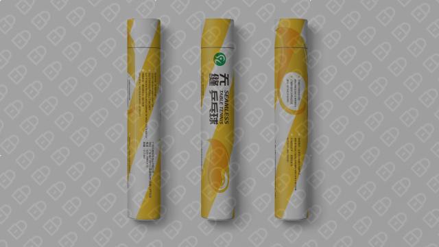 兵奥体育品牌包装设计入围方案1