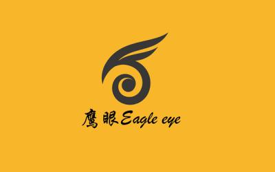 鹰眼电子设备商标设计