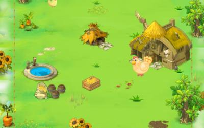 小鸡咯咯哒微信小游戏界面设计