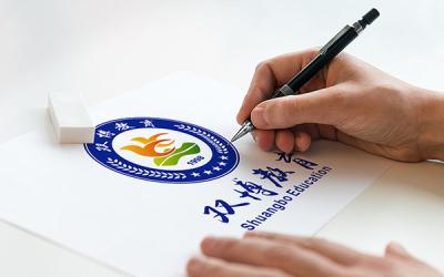 双博教育集团标志设计