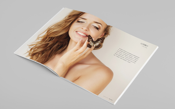 卓颜美约美容机构画册设计