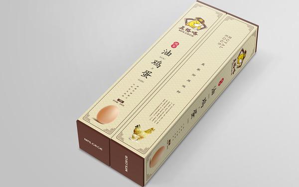 五格咯品牌油鸡蛋 包装设计