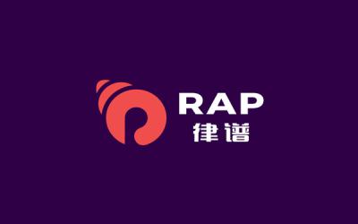 律譜RAP 專業音響品牌標志設...