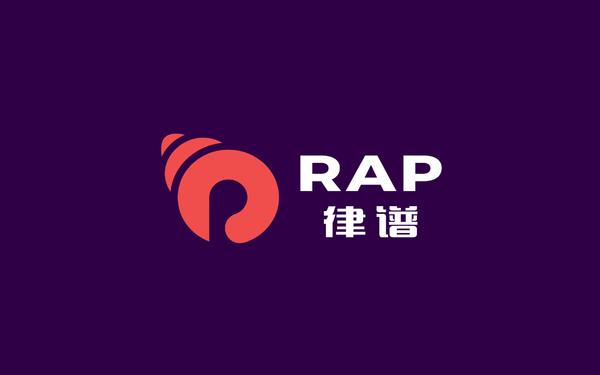 律谱RAP 专业音响品牌标志设计