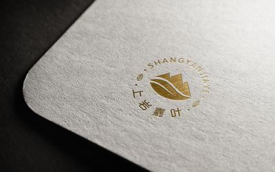 上岩嘉叶logo设计