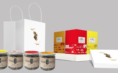 筼筜渔火零食组合包装设计方案