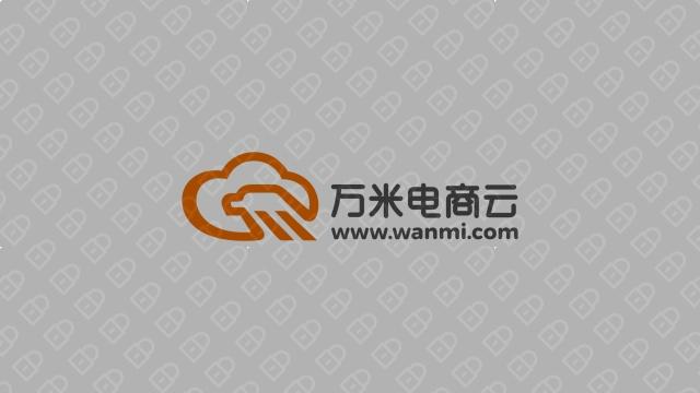 万米电商云电商品牌LOGO设计入围方案1
