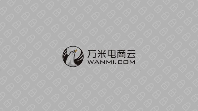 万米电商云电商品牌LOGO设计入围方案5