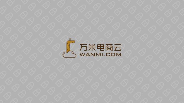 万米电商云电商品牌LOGO设计入围方案4