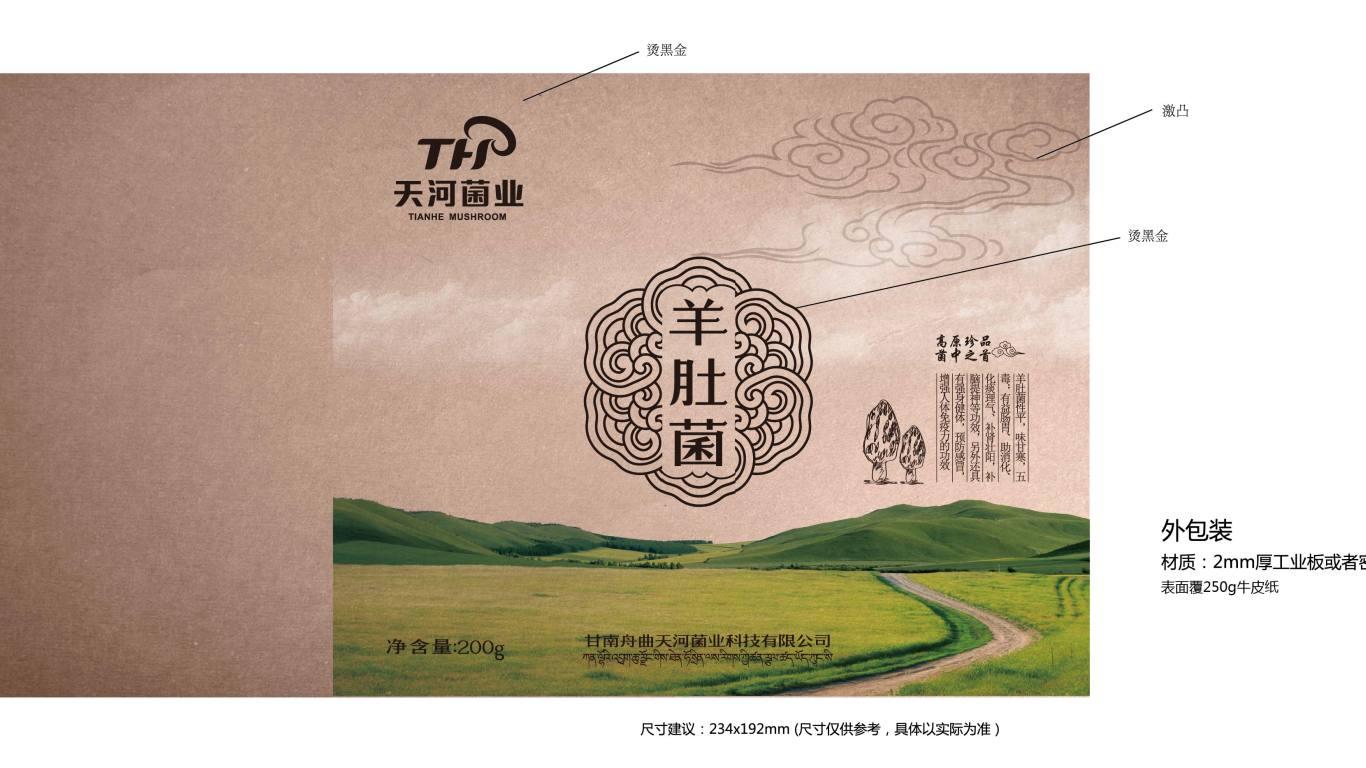 天河菌业包装设计中标图3