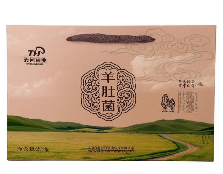 天河菌业包装设计中标图1