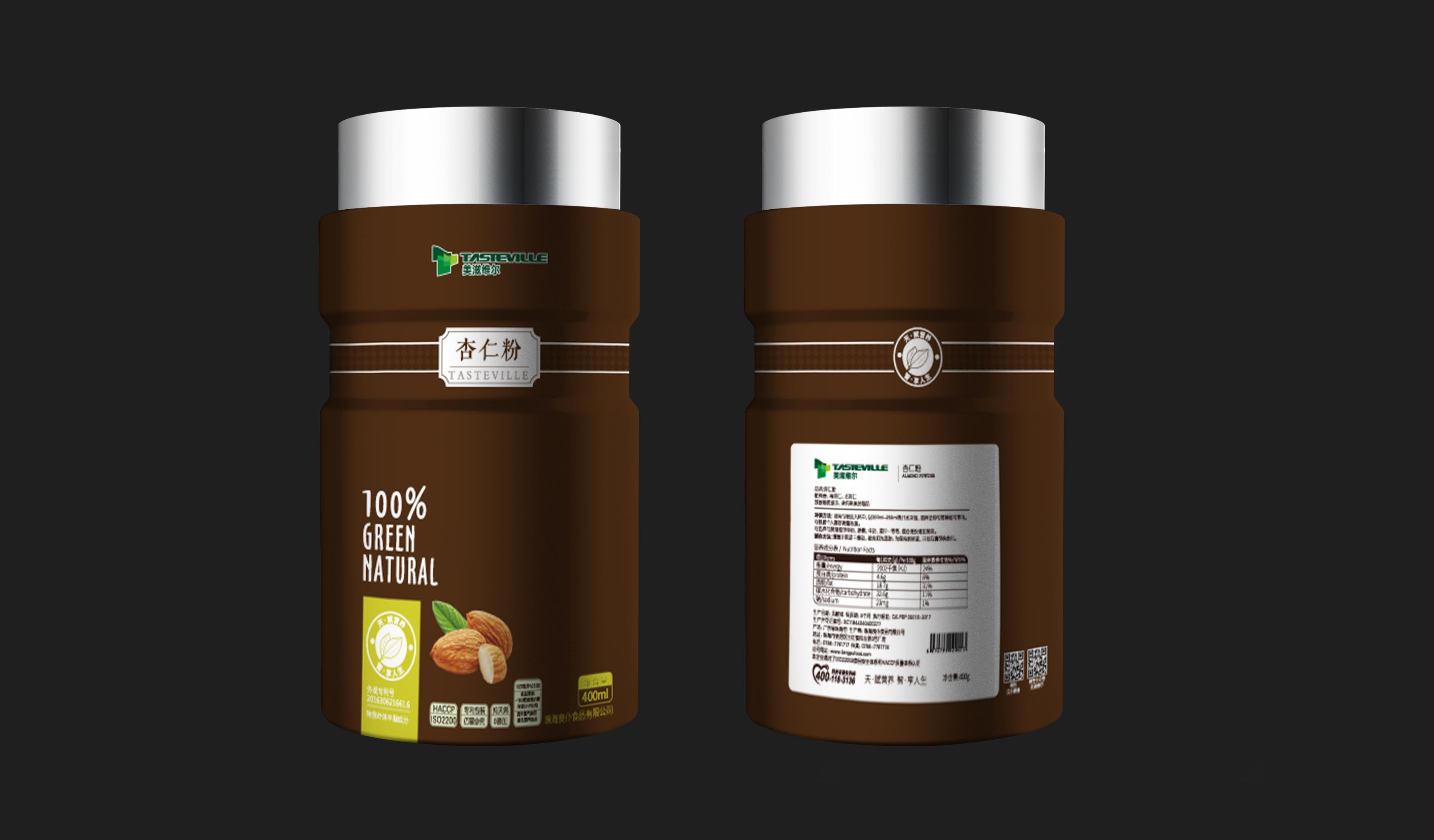 美滋维尔食品品牌包装设计
