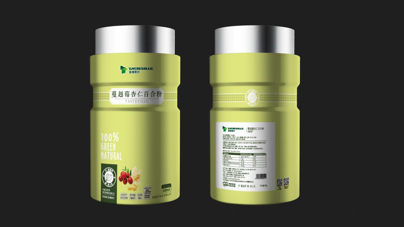 美滋维尔食品品牌包装设计中标图3