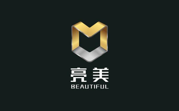 亮美品牌logo设计