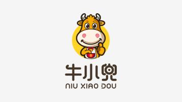 牛小兜食品品牌吉祥物設計